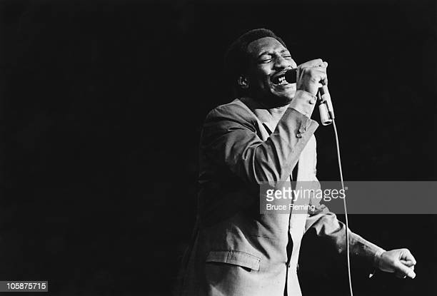 American soul singer Otis Redding performs at the Monterey Pop Festival California June 1967