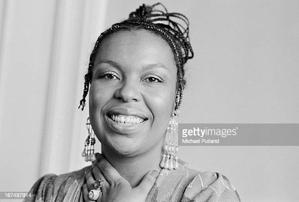 American soul singer songwriter and musician Roberta Flack London 16th January 1973