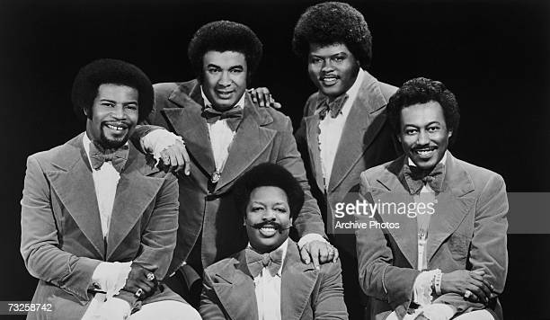American soul vocal group The Spinners 1977 Clockwise from left Pervis Jackson Billy Henderson Jonathan Edwards Bobbie Smith and Henry Fambrough
