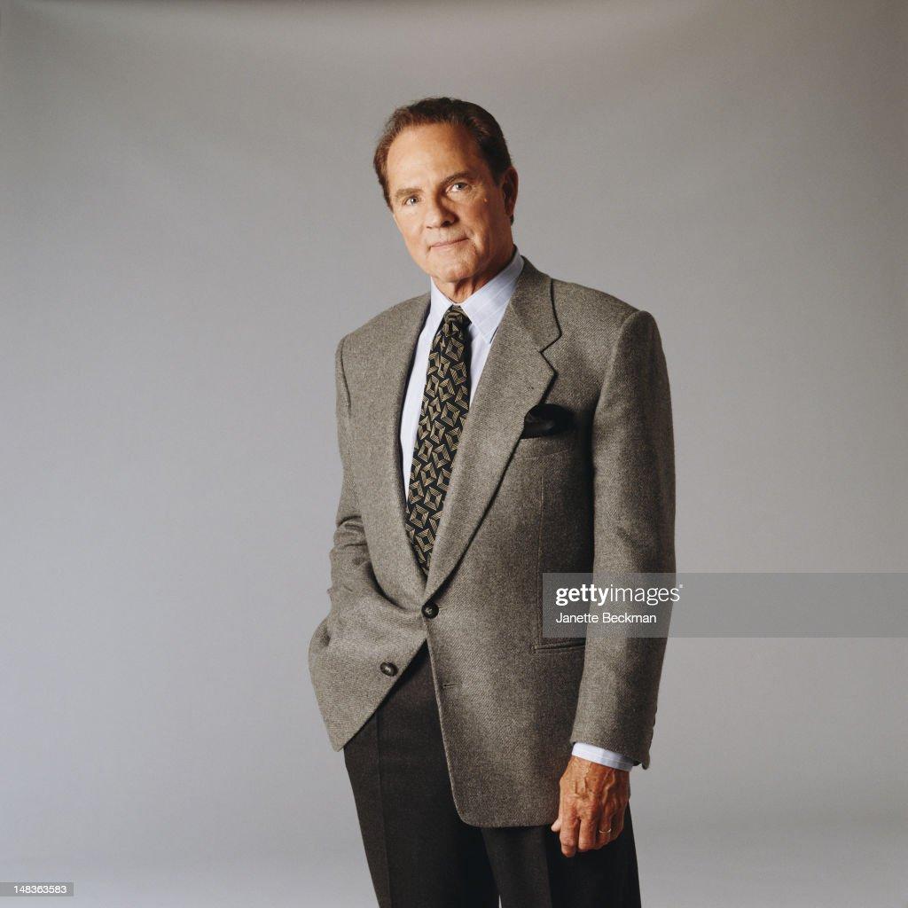 American sportscaster Frank Gifford, New York City, 1995.