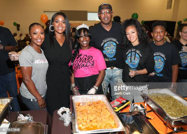 American Sprinter Carmelita Jeter Compton Mayor Aja Brown Mama YG Master P Cymphonique Miller and Mercy Miller attend the 4th Annual Compton...