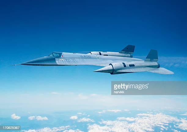American spy jet airplane