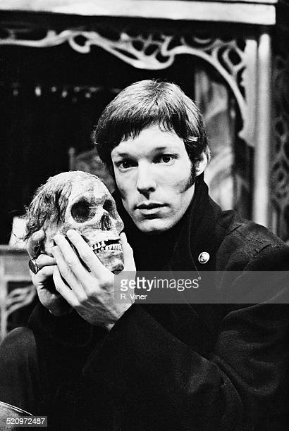 American stage and screen actor Richard Chamberlain during rehearsal for the Birmingham Repertory Theatre production of 'Hamlet' March 1969