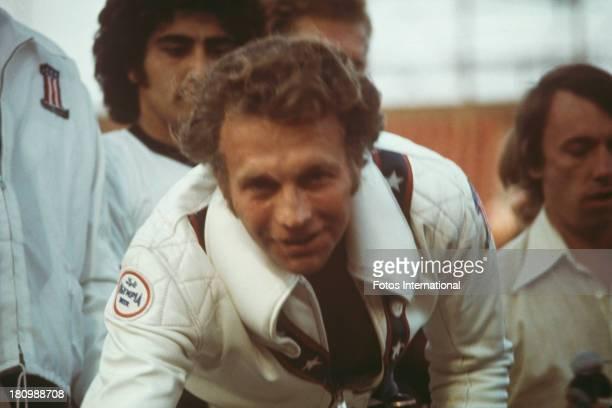 American stunt person Evel Knievel circa 1977