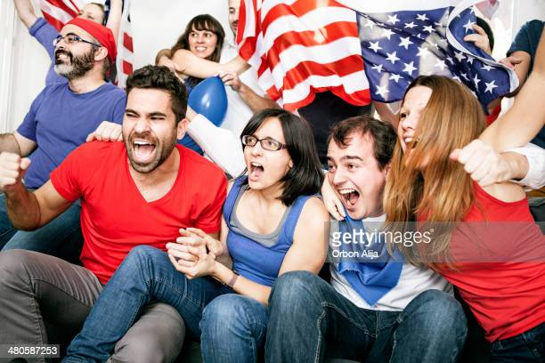 american supporters - international soccer event stock pictures, royalty-free photos & images