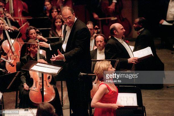 American Symphony Orchestra presents Carl Orff After Carmina Burana at Avery Fisher Hall on Wednesday night May 16 2001This imageThe conductor Leon...