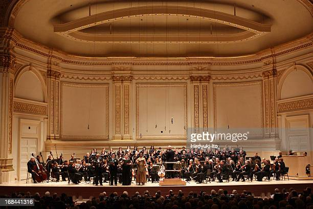 """American Symphony Orchestra presents """"Hungary Torn"""" at Carnegie Hall on Thursday night, May 2, 2013.This image:From left, Leon Williams, Brian..."""