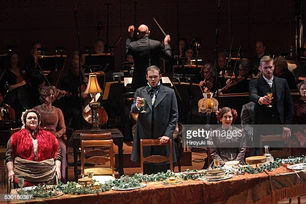 American Symphony Orchestra presents two versions of 'The Long Christmas Dinner' at Alice Tully Hall on Friday night December 19 2014This imageFrom...