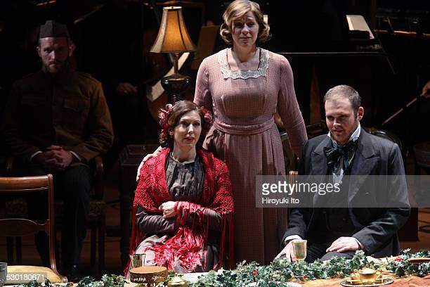 American Symphony Orchestra presents two versions of The Long Christmas Dinner at Alice Tully Hall on Friday night December 19 2014This imageFrom...