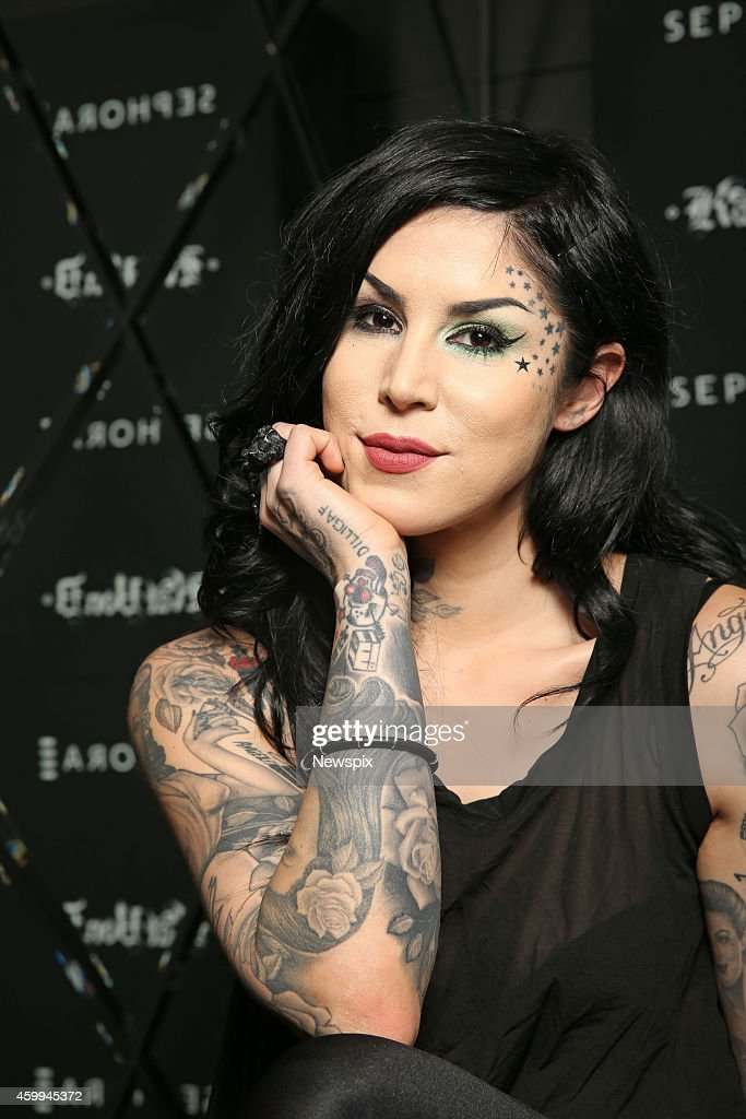 Kat Von D Sydney Photo Shoot