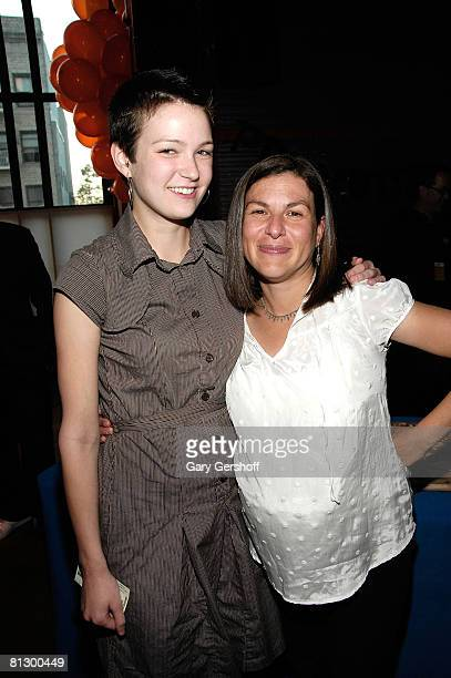 """""""American Teen"""" subject, Hannah Bailey, and director Nanette Burstein attend the 2008 Sundance Institute at BAM opening night screening """"American..."""