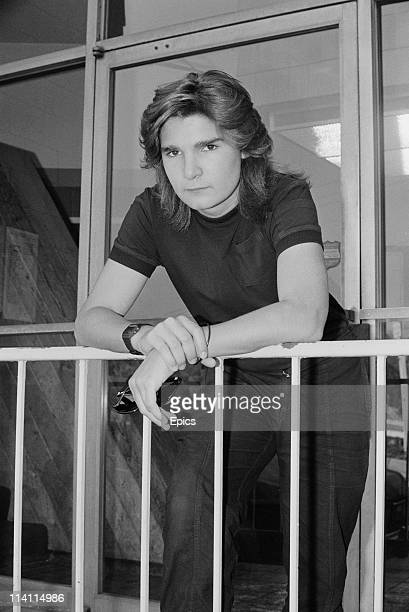 American television and film actor Corey Feldman poses for a magazine shoot United States circa 1985