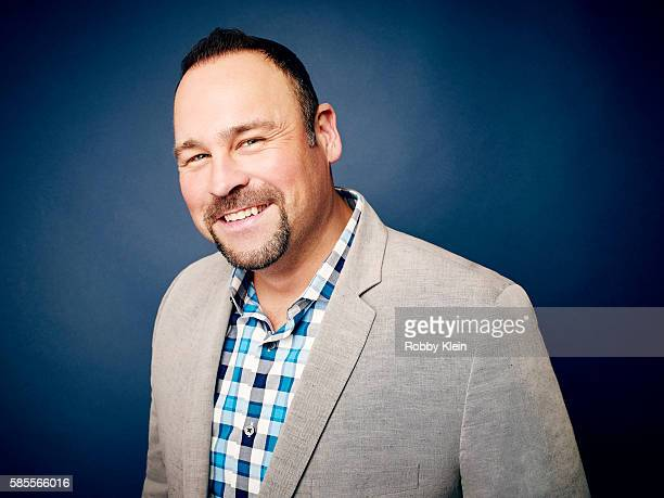 American television host and country singer Matt Rogers is photographed at the Hallmark Channel Summer 2016 TCA's on July 27 2016 in Los Angeles...