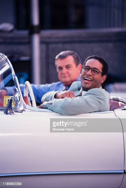 American television host and journalist Bryant Gumbel New York New York 1993
