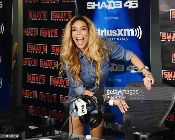 American Television host Wendy Williams visits Shade 45 hosted by Sway at SiriusXM Studios on July 13 2017 in New York City