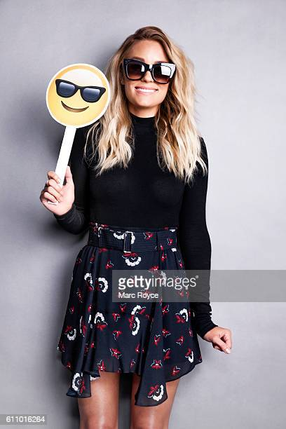 American television personality fashion designer and author Lauren Conrad is photographed for Ad Week on August 17 2015 in Los Angeles California