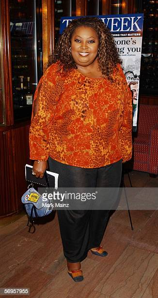 American television personality Star Jones attends a luncheon hosted by 'The Week' magazine on Watergate and 'deep throat' at Michael Jordan's the...