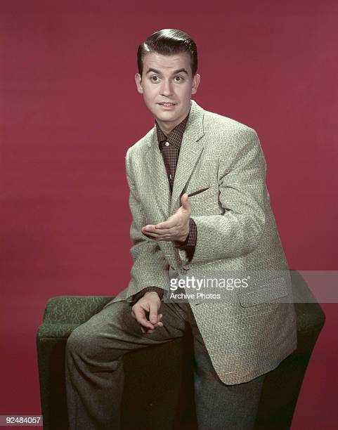 American television show host Dick Clark circa 1955