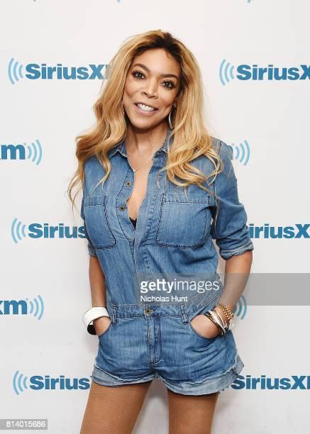 American televison host Wendy Williams visits SiriusXM Studios on July 13 2017 in New York City