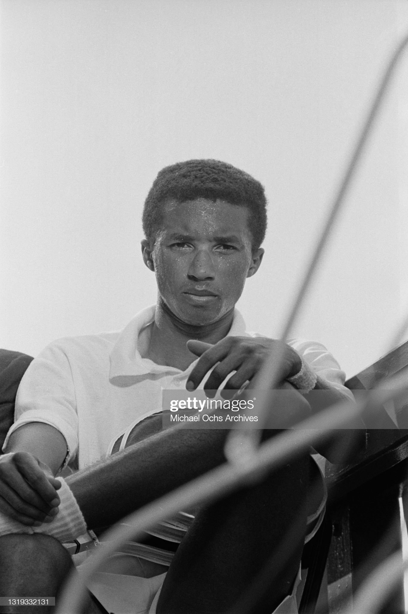 1968 U.S. Open - Men's Singles Semifinal : News Photo