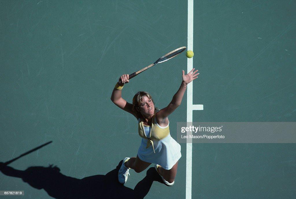 Chris Evert Wins 1978 US Open : News Photo