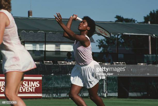 American tennis player Lori McNeil at the Virginia Slims Tennis Tournament July 1986