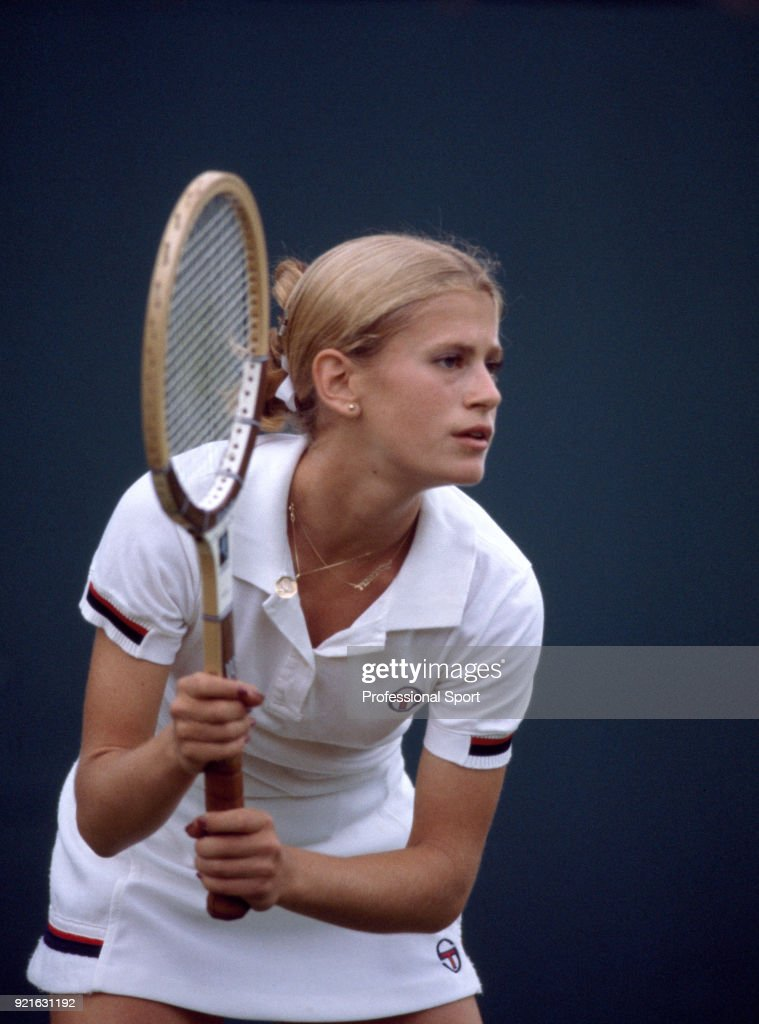 American tennis player Stacy Margolin in action circa 1980.