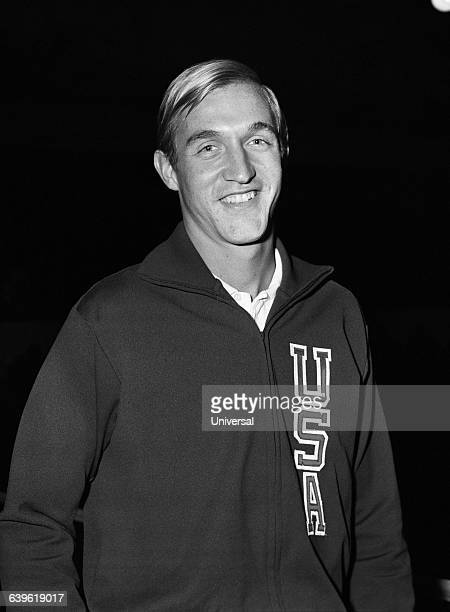 American tennis player Stan Smith.