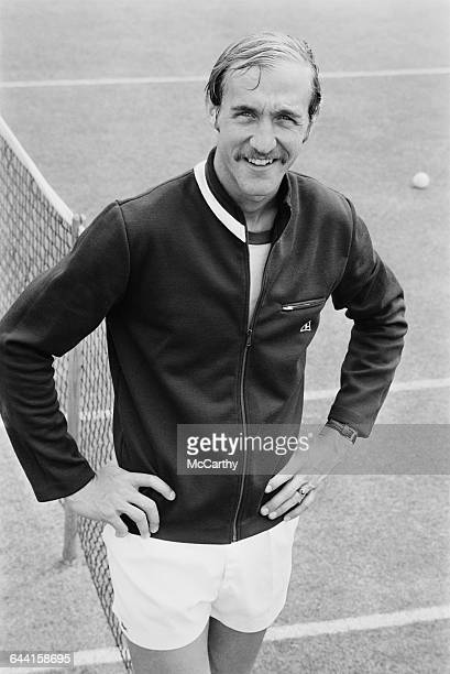 American tennis player Stan Smith the Daily Express competition winner UK 20th June 1971