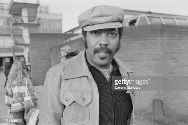 American tenor songwriter vocal arranger musician and record producer Lawrence Payton of The Four Tops UK 9th September 1976