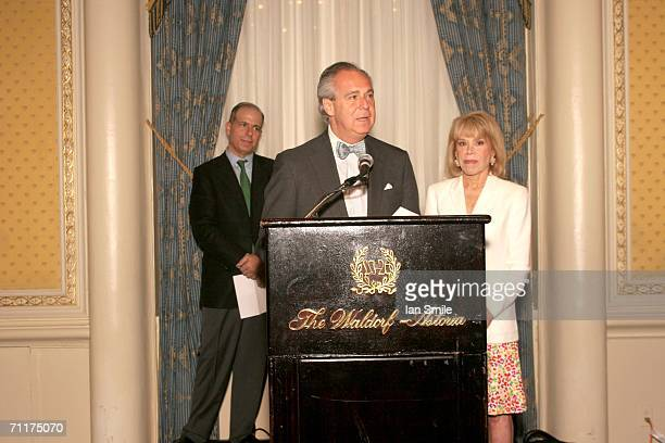 American Theater Wing President Douglas Leeds and Chairman Sondra Gilman present The Tonys Awards Honor Presenters And Nominees at Waldorf Astoria in...