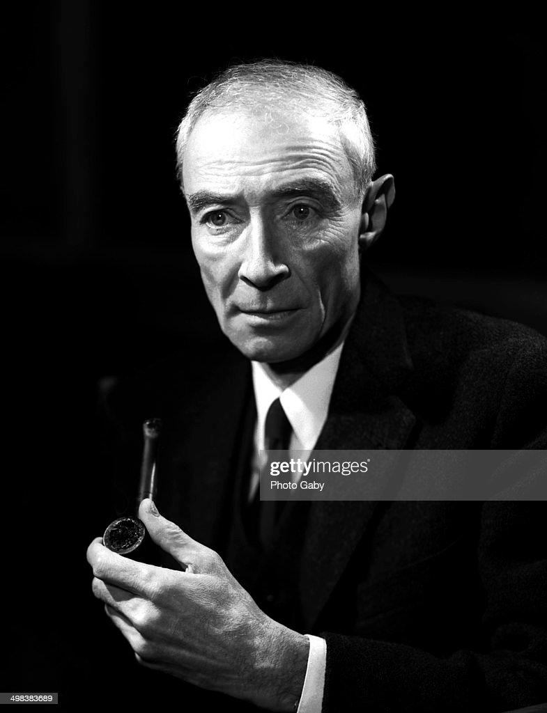 American theoretical physicist J. Robert Oppenheimer (1904 - 1967), New York, 1965.