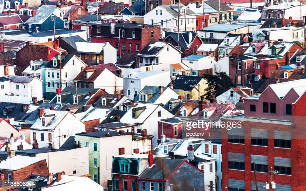 american town - pittsburgh, pa - pittsburgh stock pictures, royalty-free photos & images