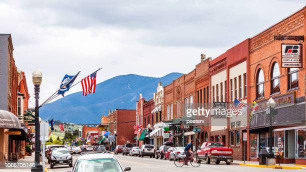 American town - Red Lodge, Montana