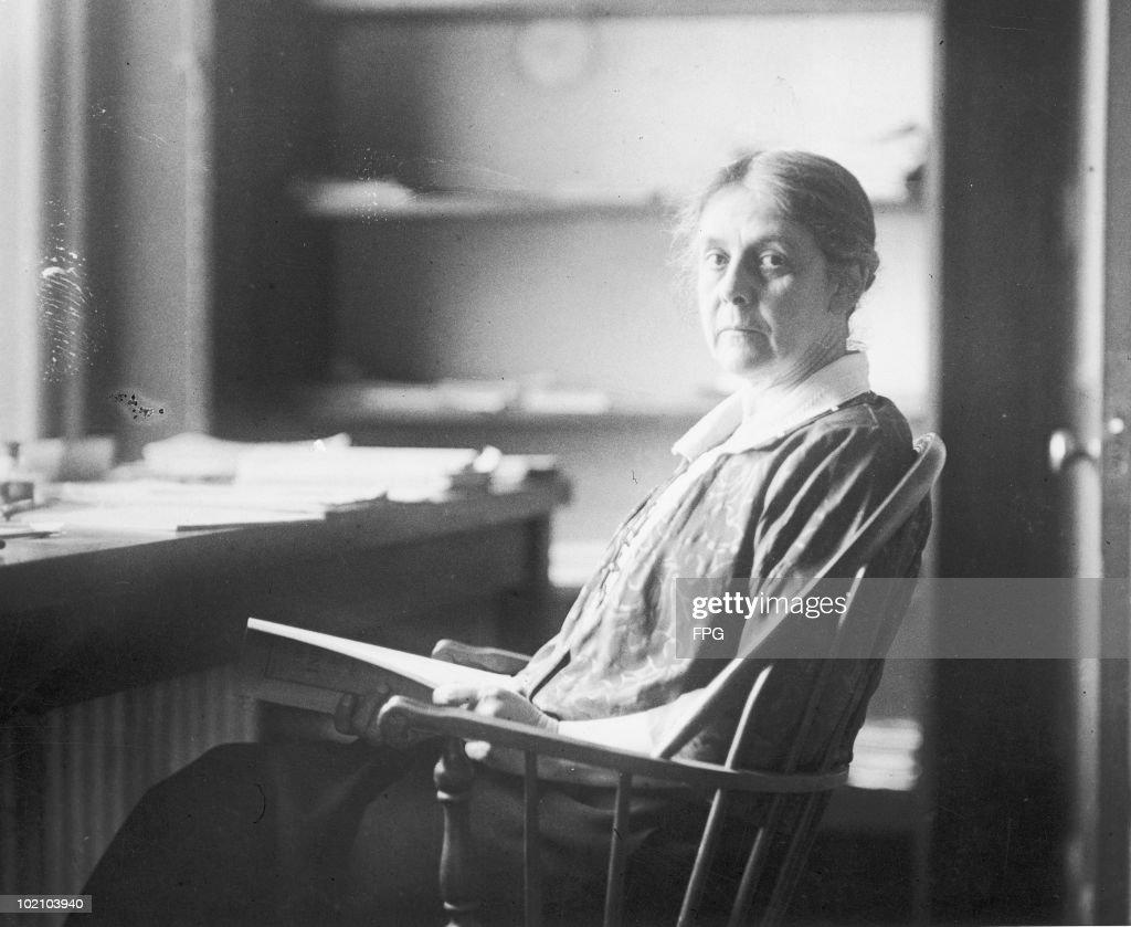 Alice Hamilton : News Photo