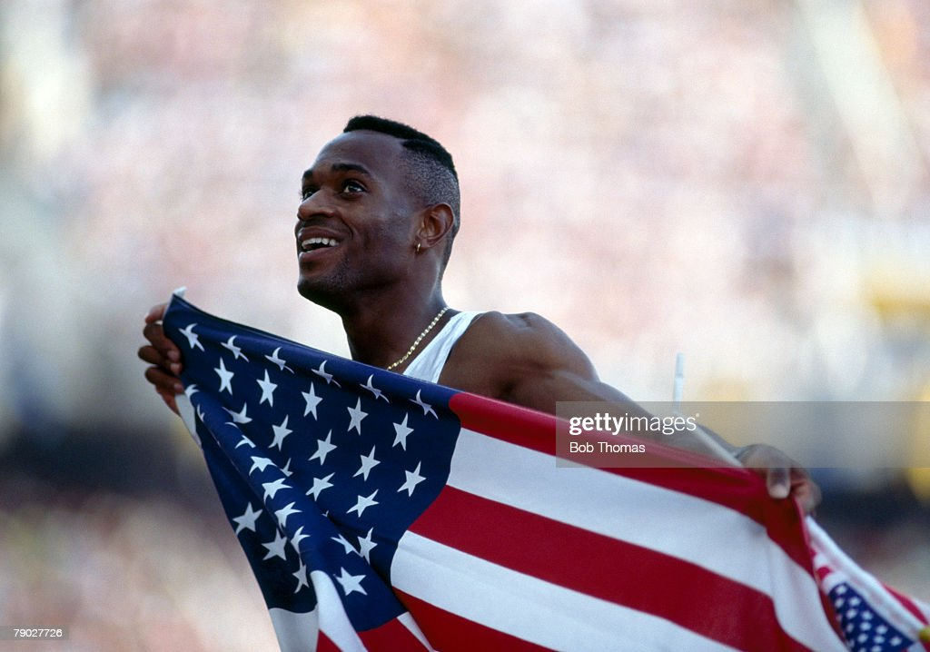 Kevin Young At XXV Summer Olympics : News Photo