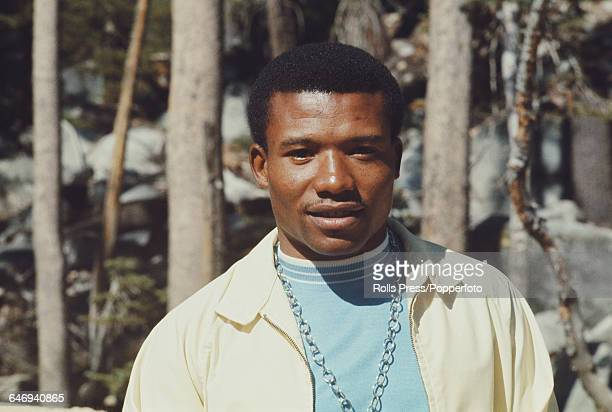 American track athlete Mel Pender pictured attending the United States Olympic Trials at Echo Summit in California in September 1968 Pender would go...