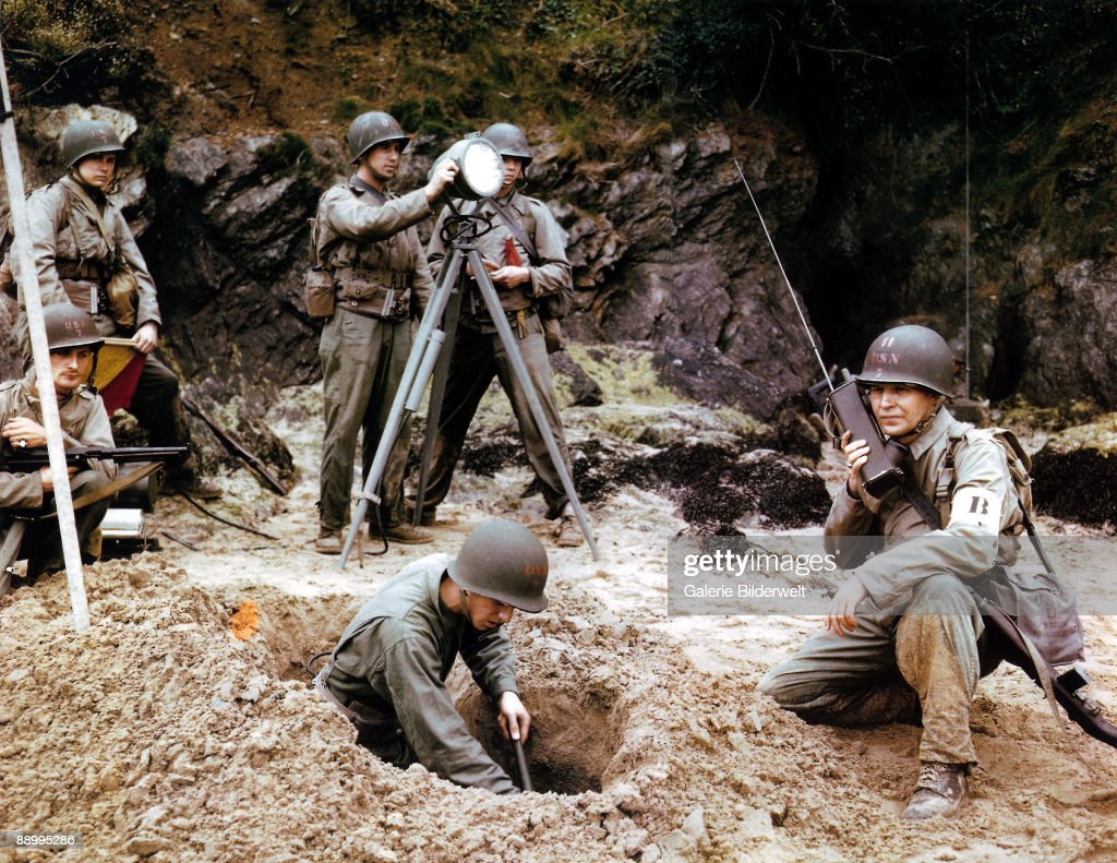 Training For D-Day : News Photo