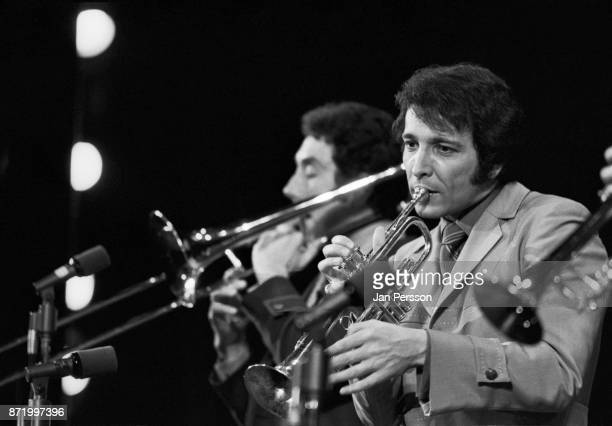 American trumpet player composer and band leader Herb Alpert in concert Copenhagen Denmark November 1969