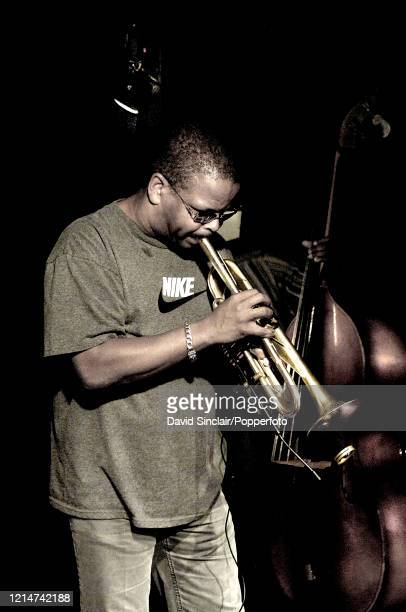 American trumpet player Terence Blanchard performs live on stage at PizzaExpress Jazz Club in Soho London on 13th August 2006