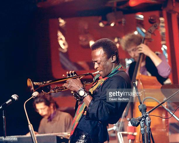 SCOTTS Photo of Miles DAVIS and Dave HOLLAND and Chick COREA LR Chick Corea Miles Davis Dave Holland performing live onstage for BBC 'Jazz Scene' TV...