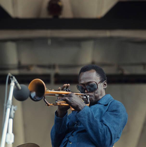 Miles Davis Performs At Newport Wall Art