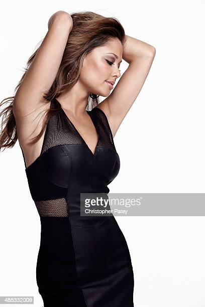 American TV personality and model Vanessa Minnillo is photographed for Beauty Entertainment on June 10 2010 in Los Angeles California PUBLISHED IMAGE