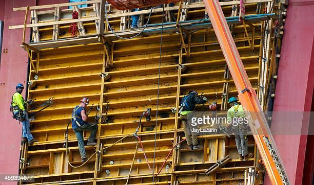 American Union Bügeleisen & Steel worker One World Trade Center