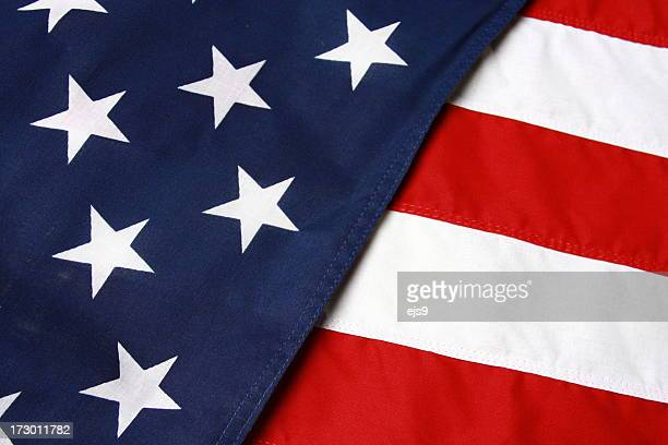 American U.S.A. flag background
