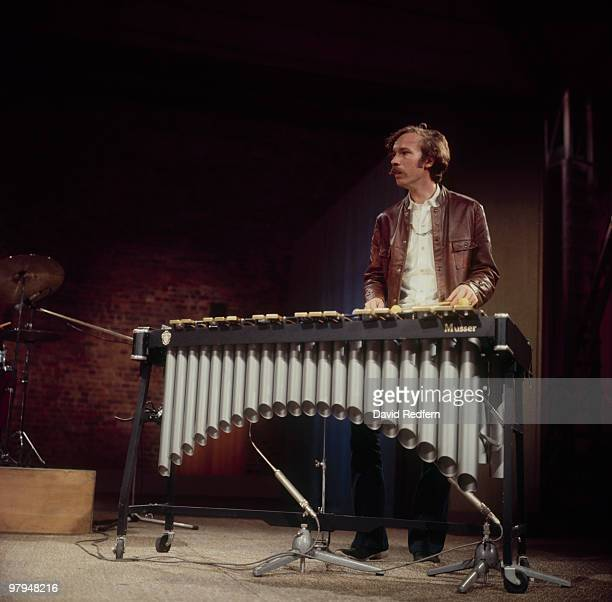 American vibraphonist Gary Burton performs on the BBC television show 'Jazz at the Maltings' on March 13 1969