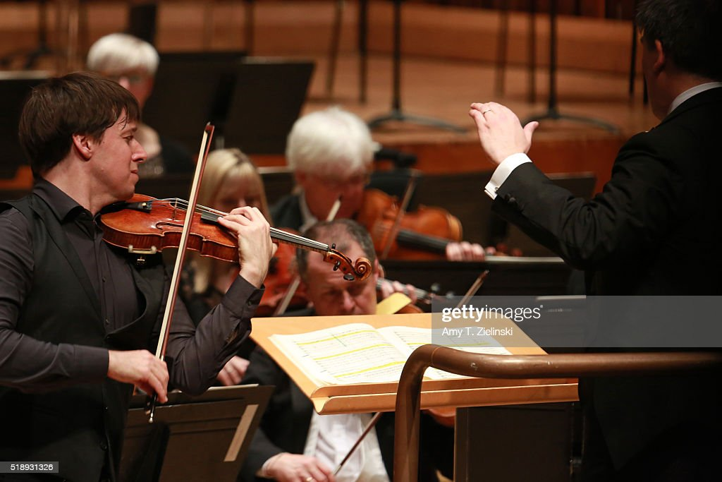 American violinist Joshua Bell plays the Tchaikovsky Violin Concerto