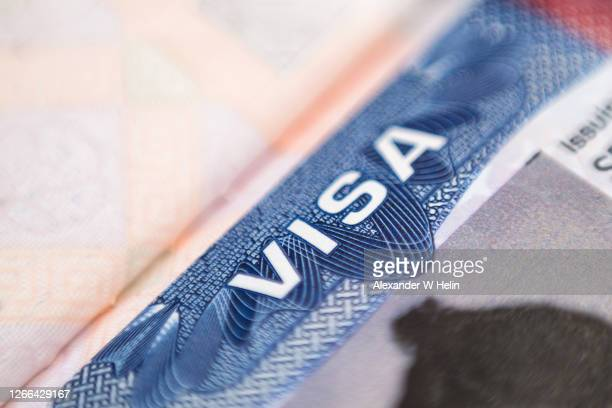 american visa - emigration and immigration stock pictures, royalty-free photos & images