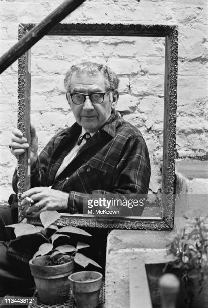 American visual artist Man Ray , UK, 24th October 1963.