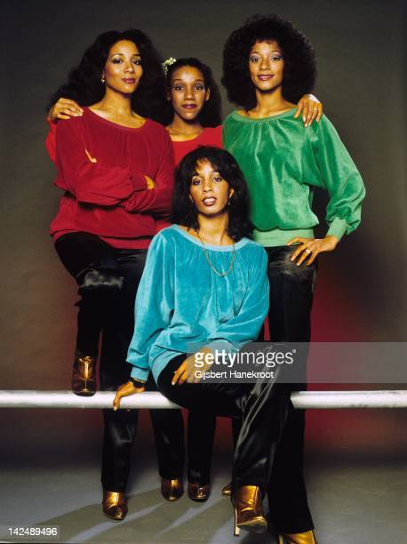 American vocal group Sister Sledge pose for a portrait in circa 1980 in the Netherlands
